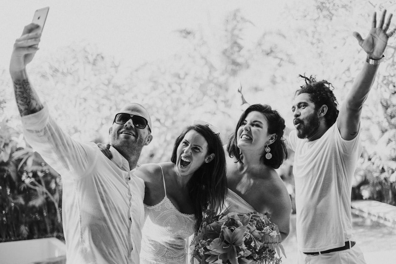 Matt & Renee: Intimate Bali Wedding Vow Renewal 17