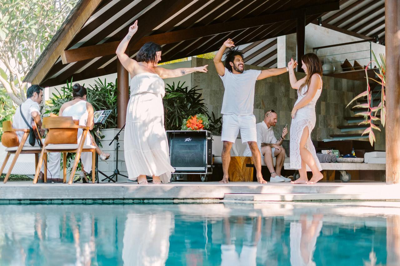 Matt & Renee: Intimate Bali Wedding Vow Renewal 30