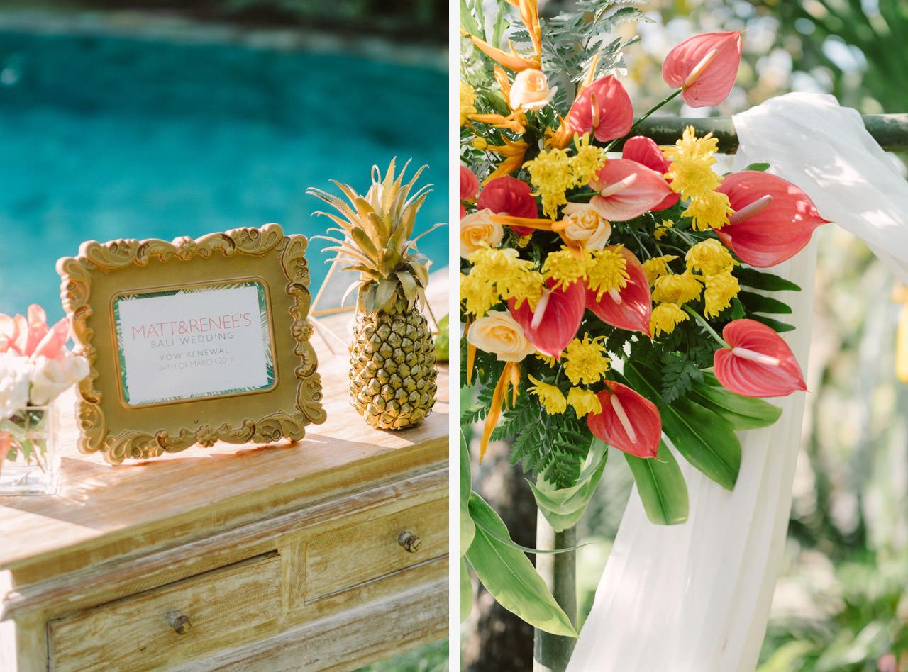 Matt & Renee: Intimate Bali Wedding Vow Renewal 34