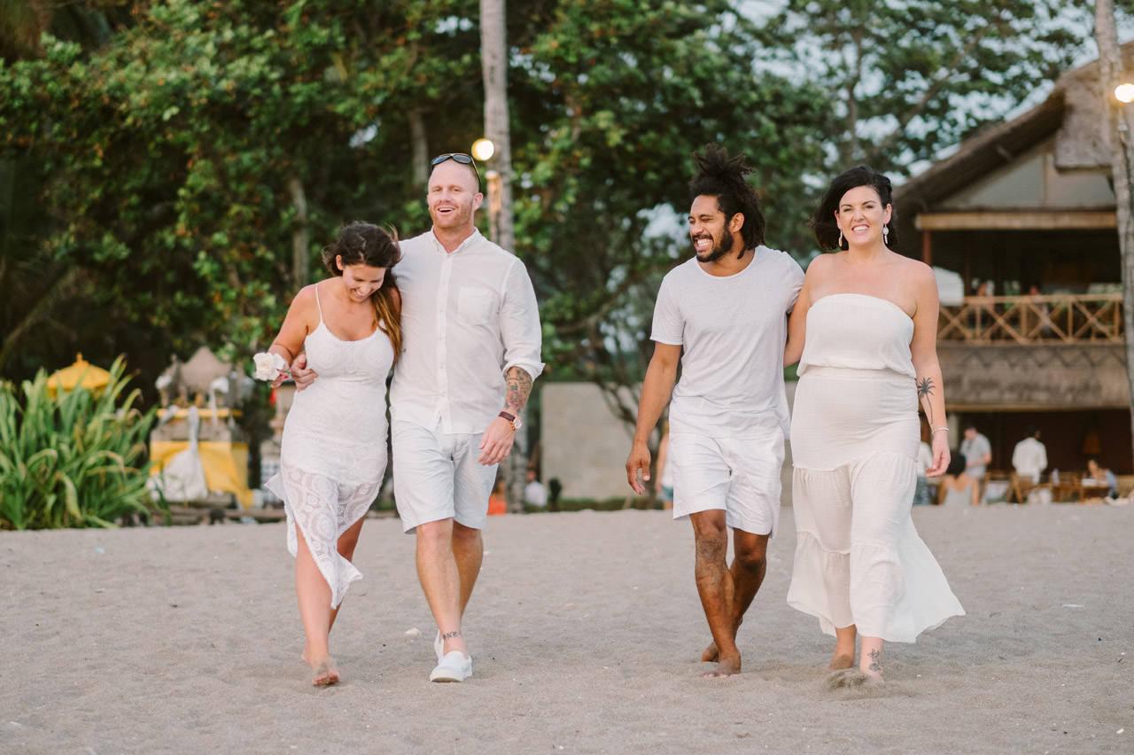Matt & Renee: Intimate Bali Wedding Vow Renewal 61