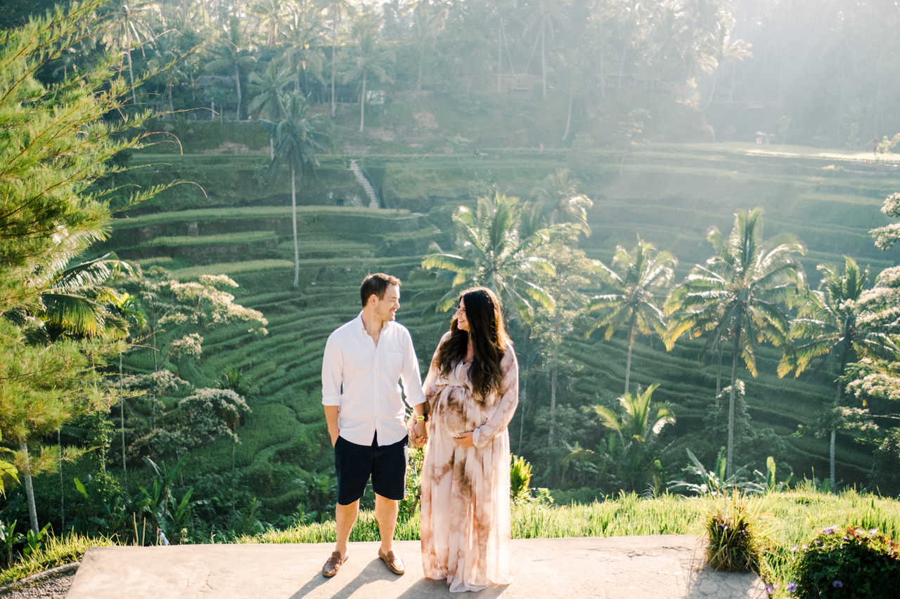 R&M: Sunrise Ubud Bali Maternity Photography 1