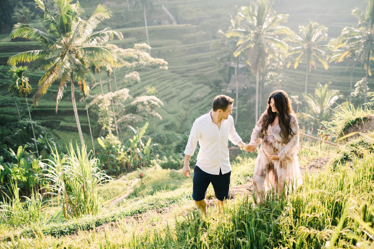 R&M: Sunrise Ubud Bali Maternity Photography 4