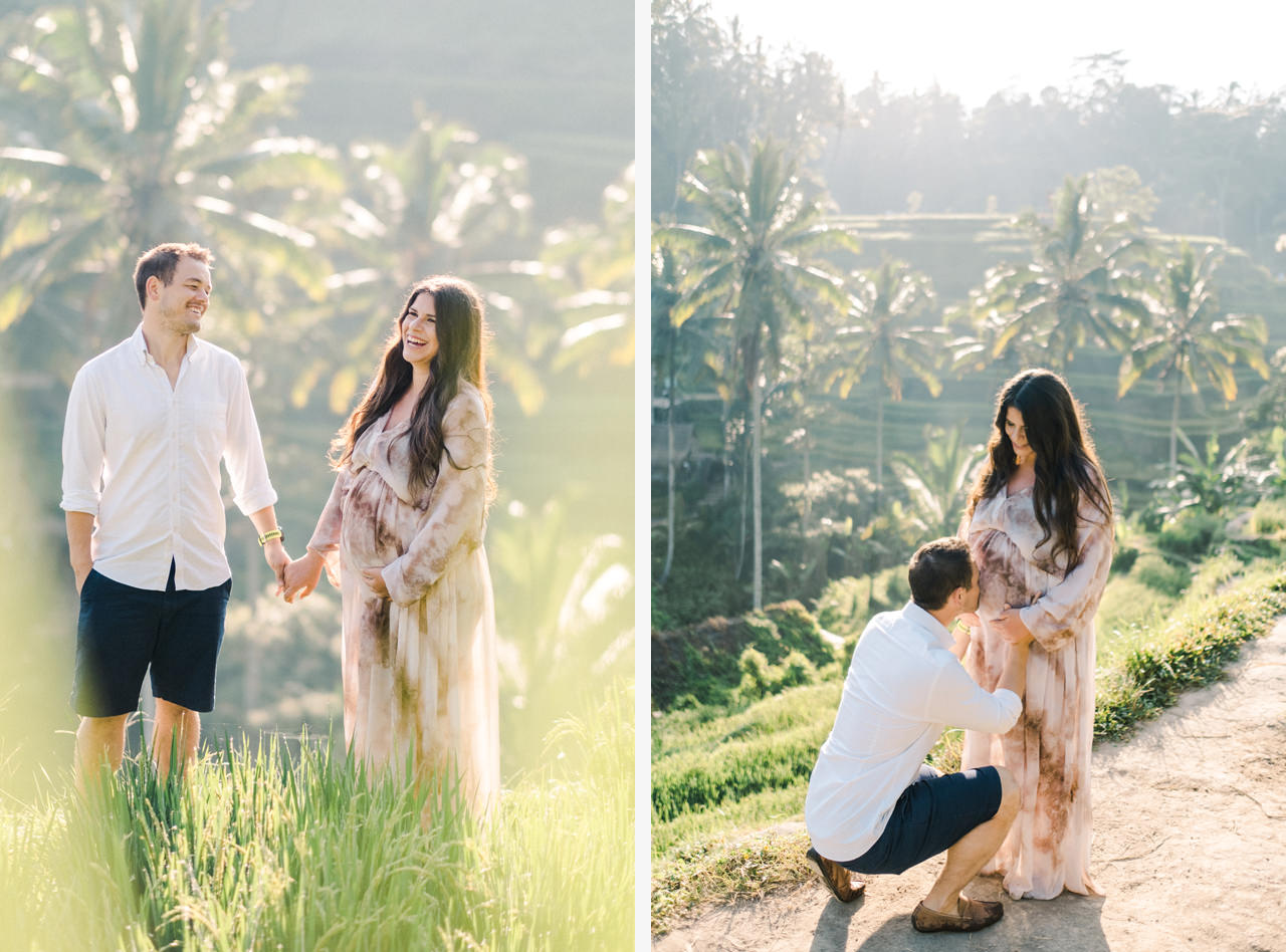 R&M: Sunrise Ubud Bali Maternity Photography 5