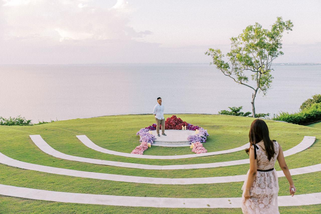 Dreamy Ayana Resort Surprise Proposal 15