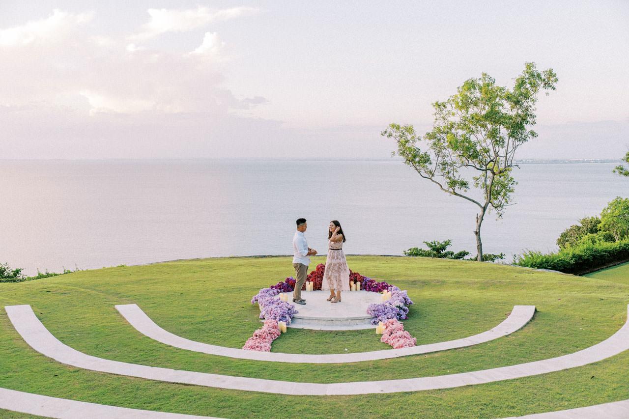 Dreamy Ayana Resort Surprise Proposal 16