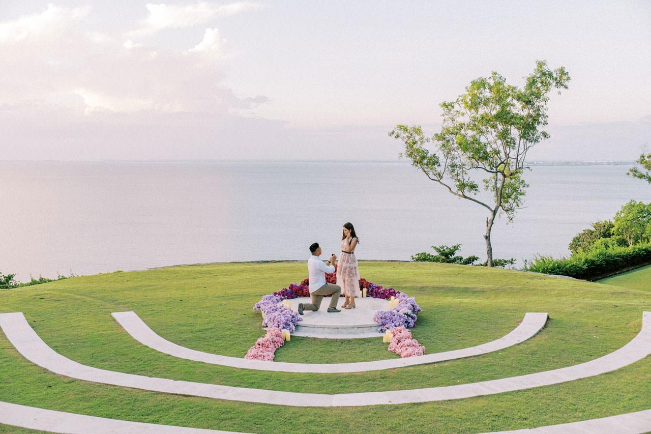 Dreamy Ayana Resort Surprise Proposal 17