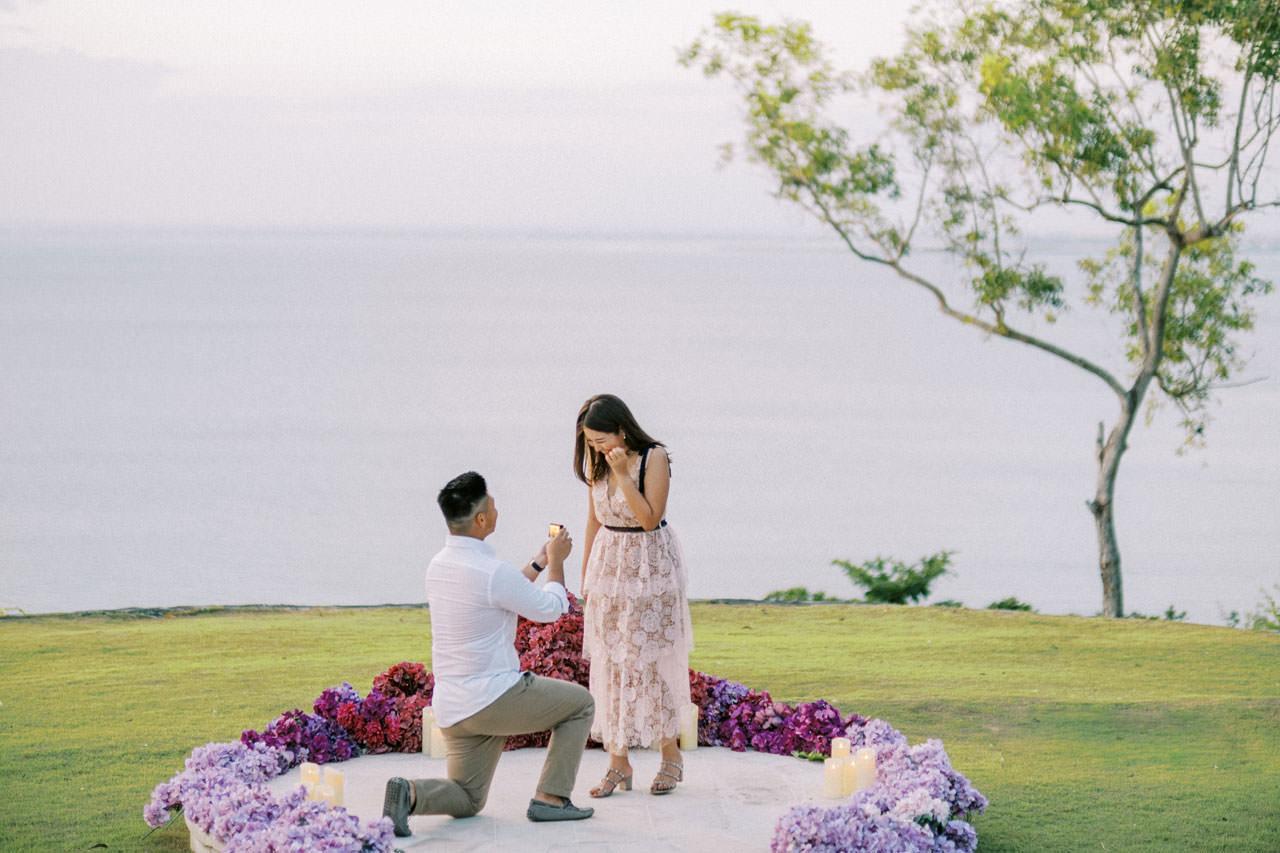 Dreamy Ayana Resort Surprise Proposal 18