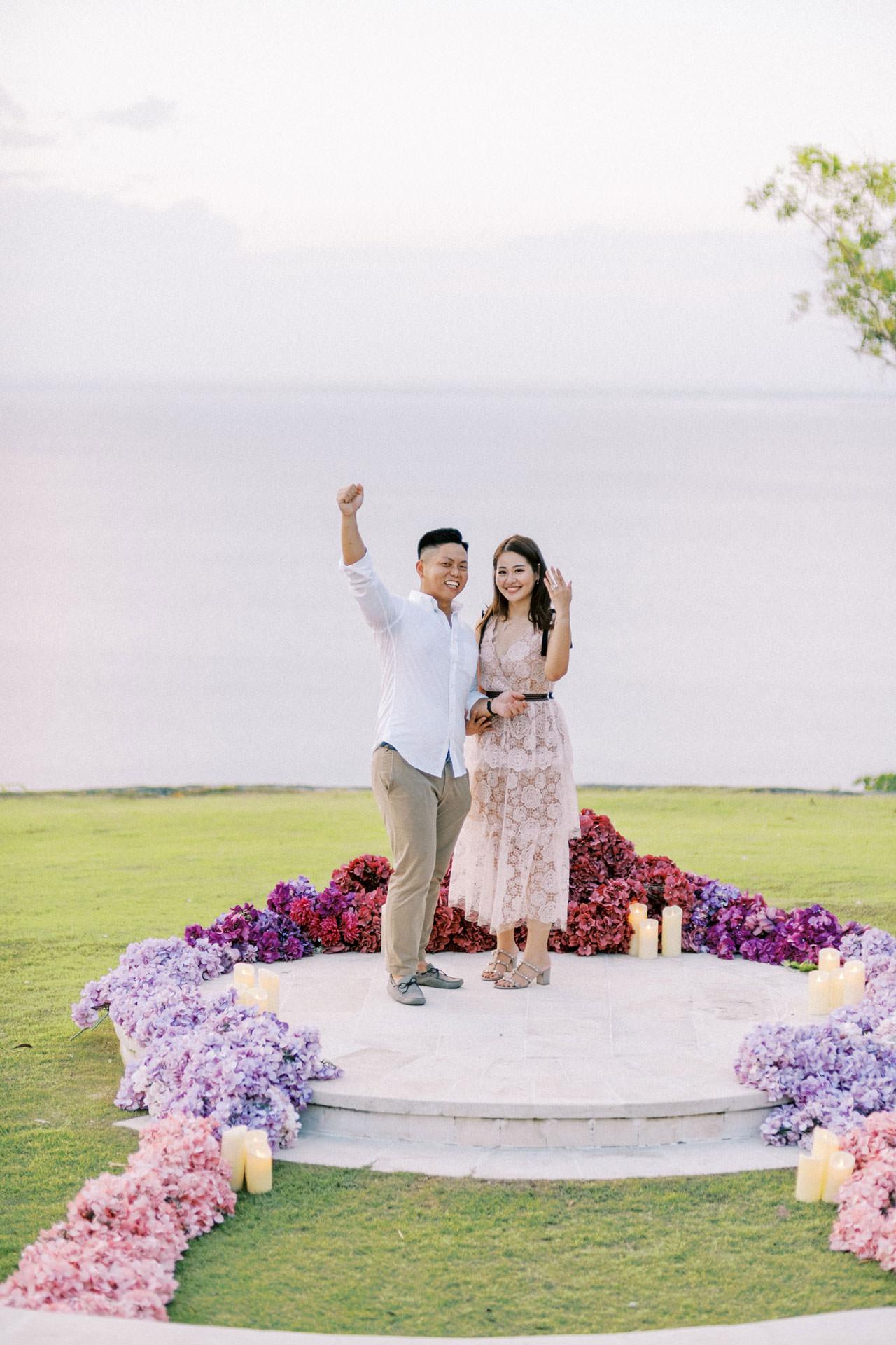 Dreamy Ayana Resort Surprise Proposal 25