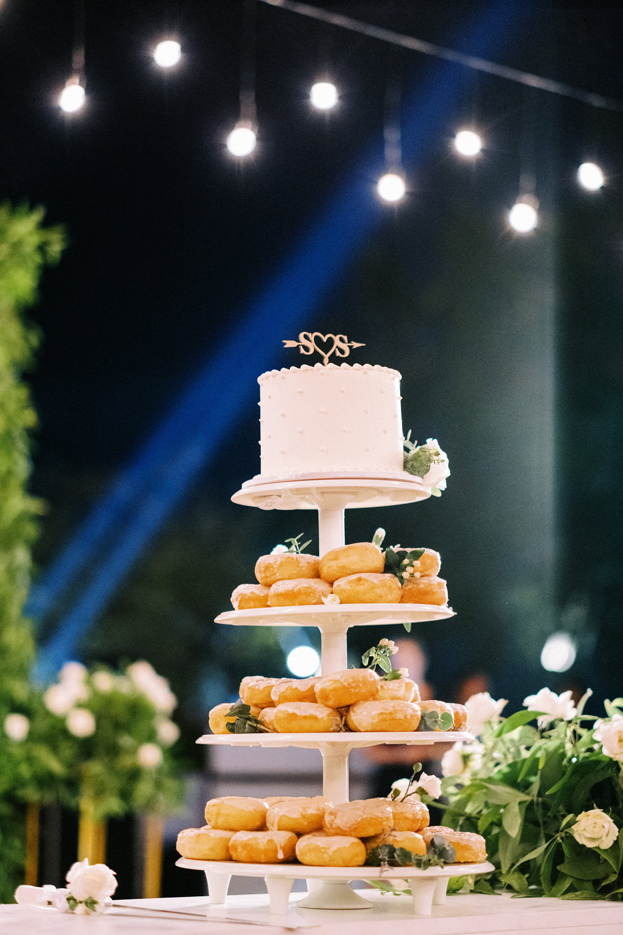 Donut Cake For Wedding