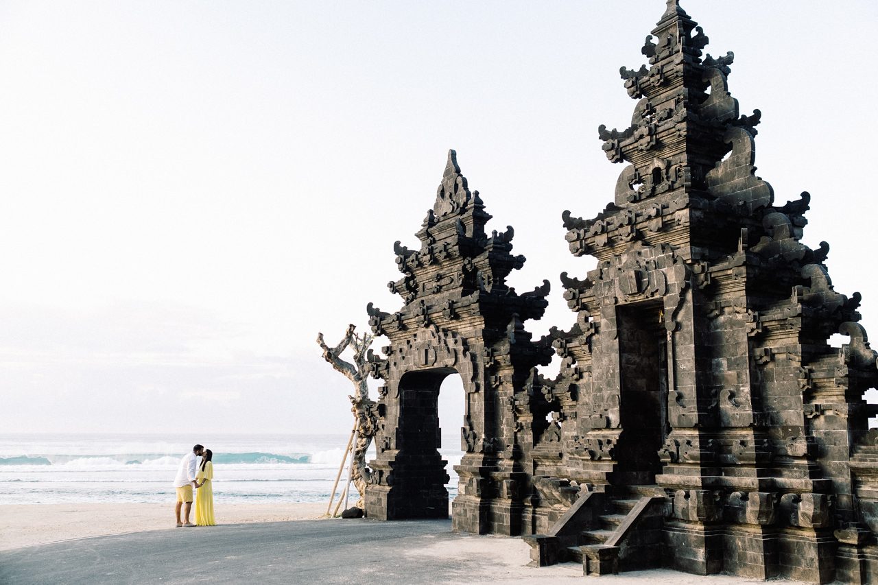 Engagement Session Turned Into Surprise Proposal in Bali 2