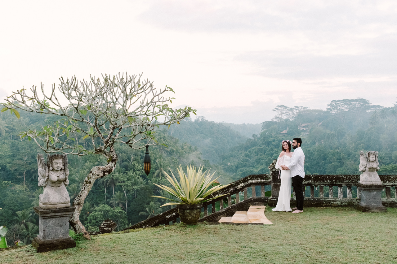 Sibel & Cem: Sweet Newlyweds Ubud Honeymoon Session 1