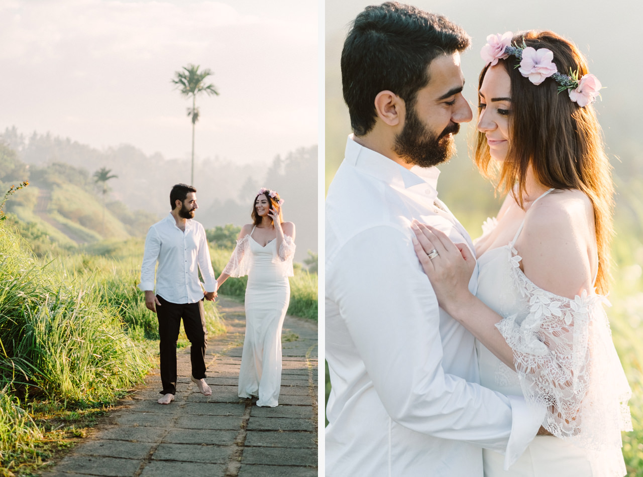 Sibel & Cem: Sweet Newlyweds Ubud Honeymoon Session 4