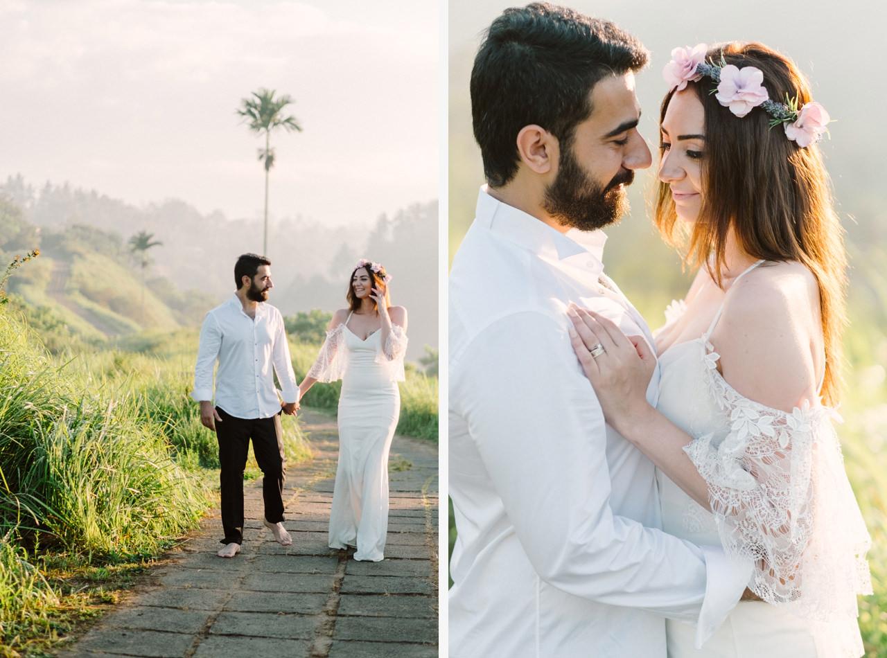 Sibel & Cem: Sweet Newlyweds Ubud Honeymoon Session 4