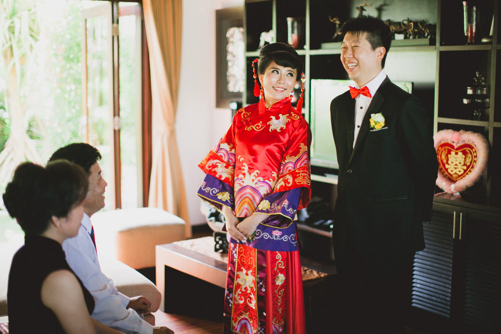 S&D Chinese Tea & Destination Bali Wedding at The Sanctus Villa 8