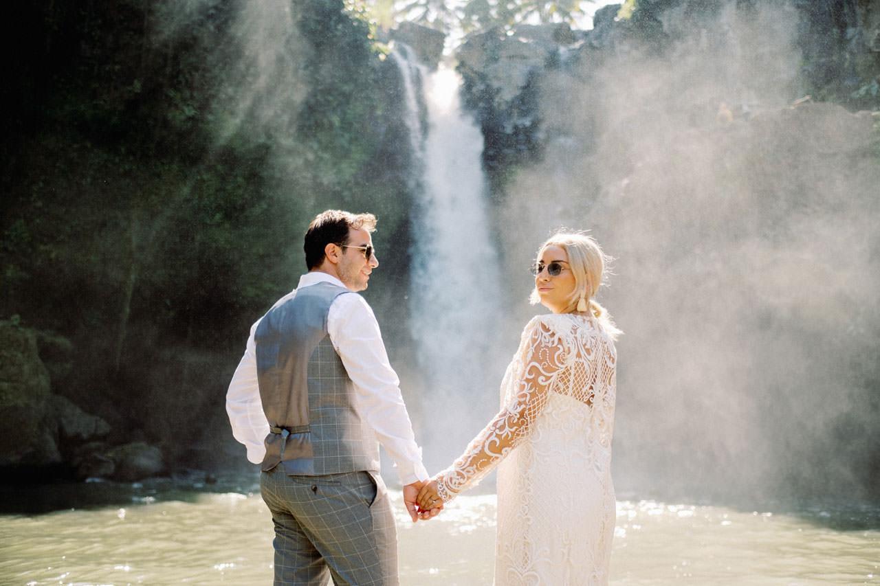 Tegenungan Waterfall Bali Honeymoon 14