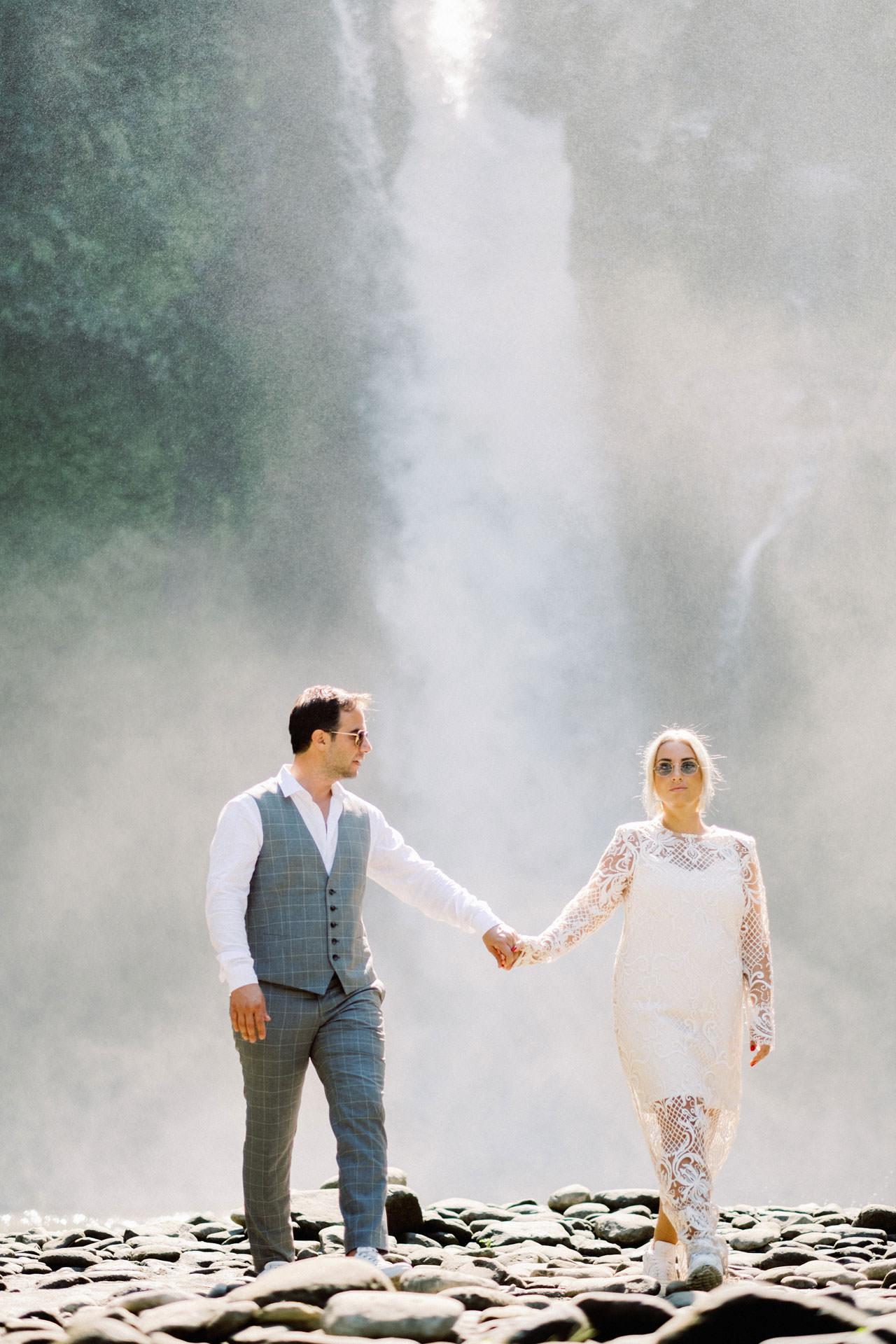 Tegenungan Waterfall Bali Honeymoon 15