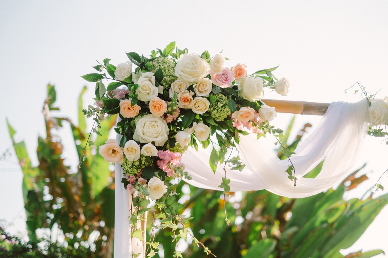 F&S: A Light and Airy Bali Beach Wedding Destination 15