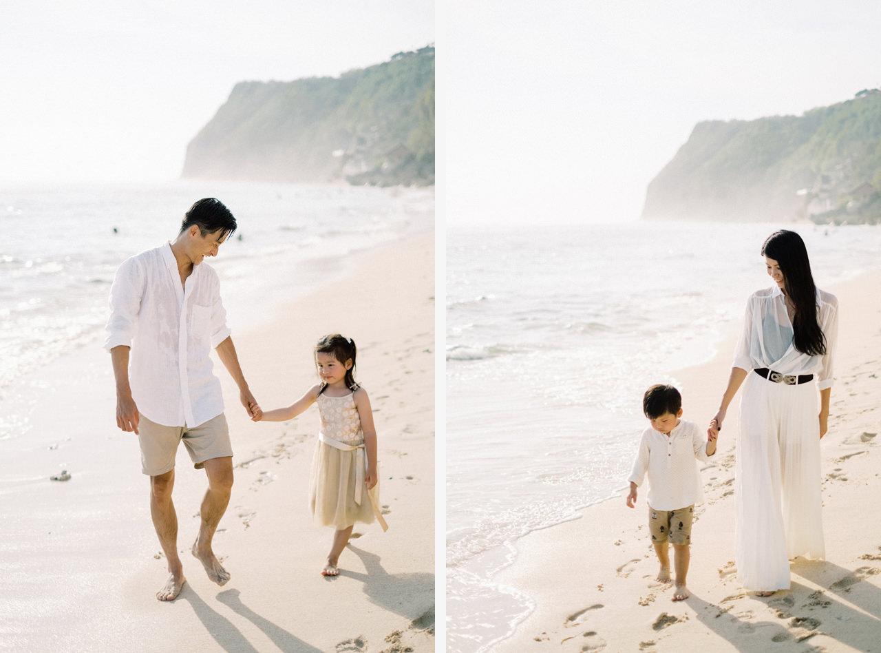 S&G: Bali Family Vacation Photo at The Beach 13