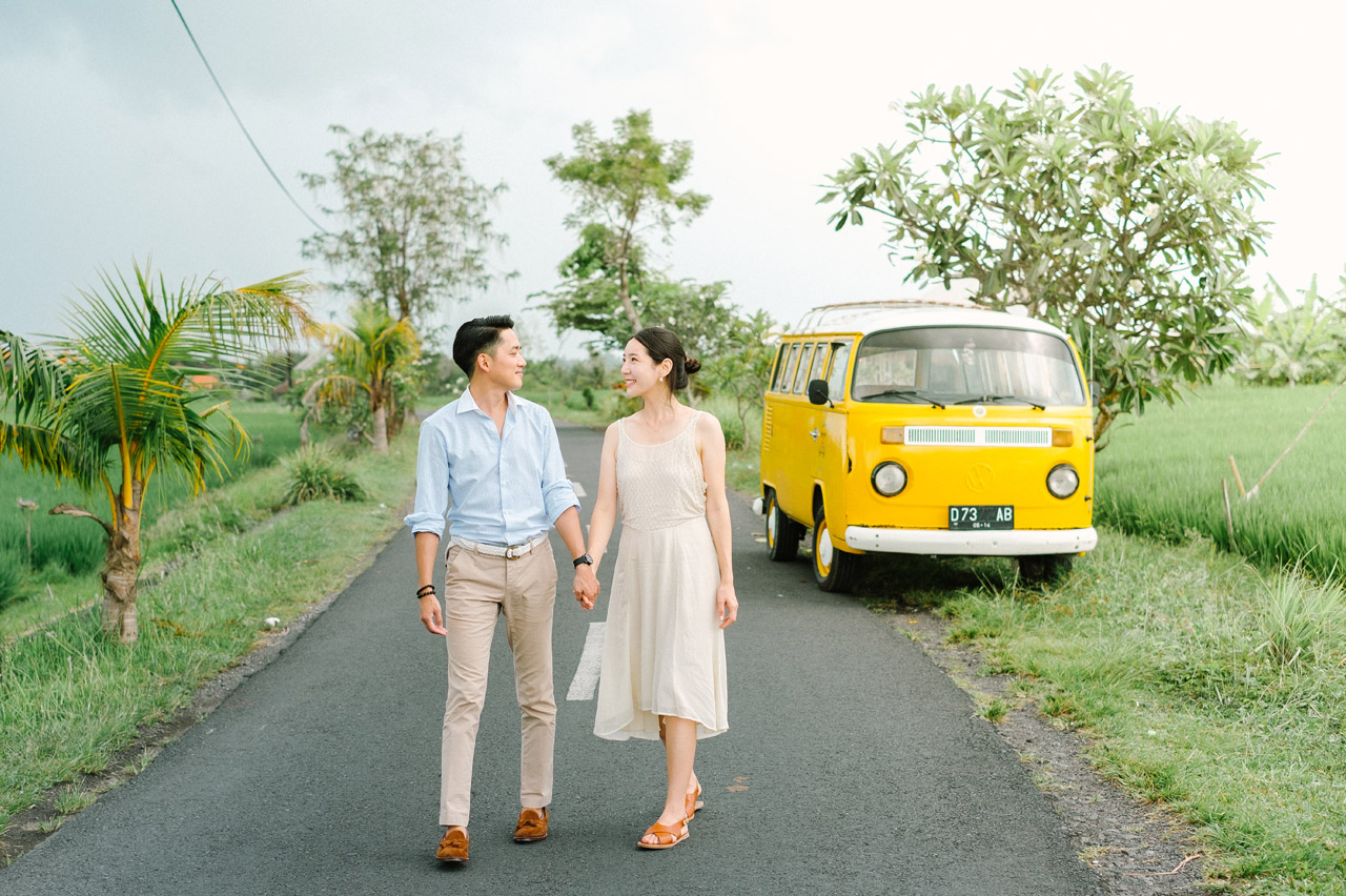Semin & Ju Won: Romantic Bali Pre Wedding Photography Session 8