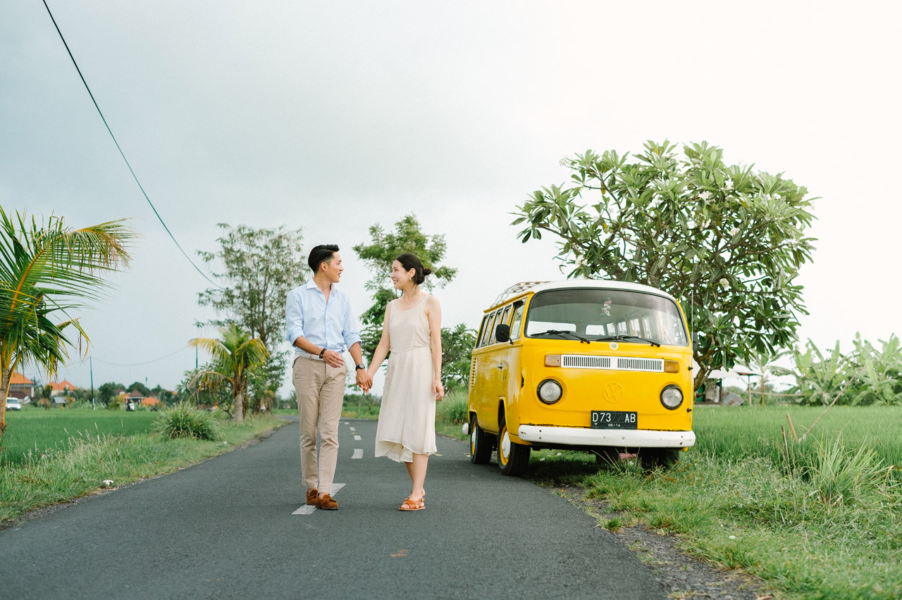 Semin & Ju Won: Romantic Bali Pre Wedding Photography Session 9