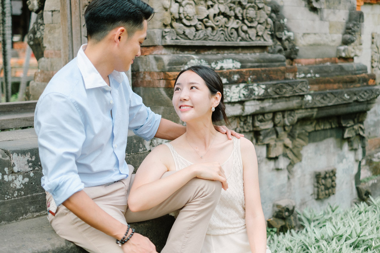 Semin & Ju Won: Romantic Bali Pre Wedding Photography Session 24