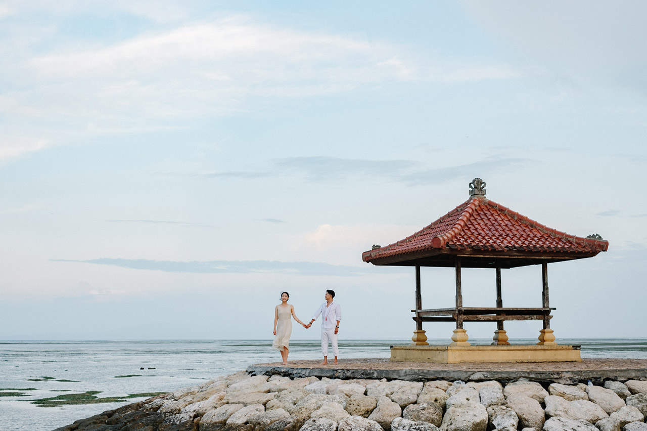 Semin & Ju Won: Romantic Bali Pre Wedding Photography Session 47