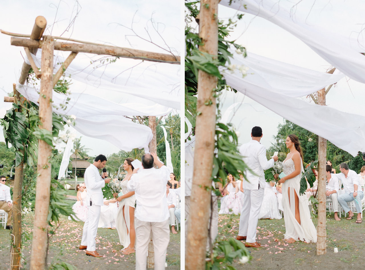S&K: Bali Barefoot Wedding at Sungai Tinggi Beach Villa 46