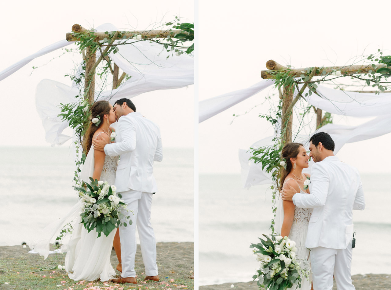 S&K: Bali Barefoot Wedding at Sungai Tinggi Beach Villa 50