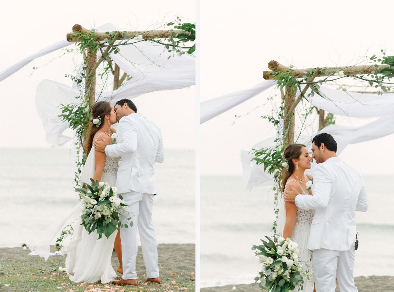 S&K: Bali Barefoot Wedding at Sungai Tinggi Beach Villa 50