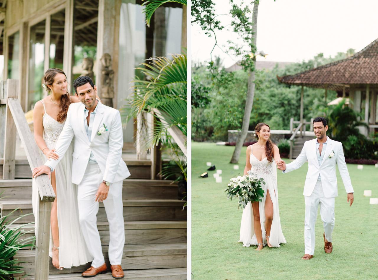 S&K: Bali Barefoot Wedding at Sungai Tinggi Beach Villa 62