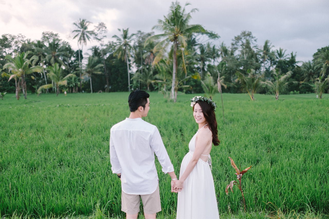Tropical Ubud Babymoon Photography 5