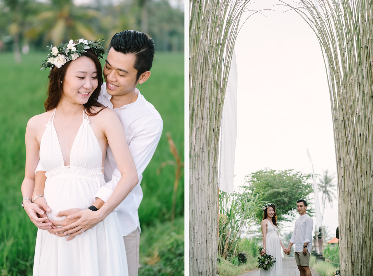 Sara & Lee: Tropical Ubud Babymoon Photography 6