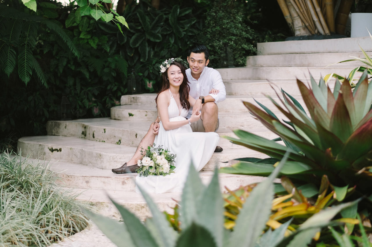 Sara & Lee: Tropical Ubud Babymoon Photography 7