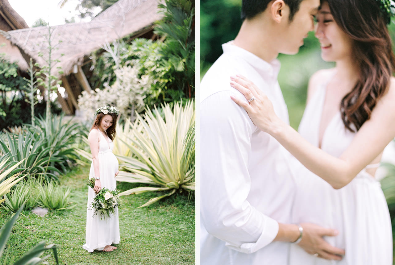 Sara & Lee: Tropical Ubud Babymoon Photography 8
