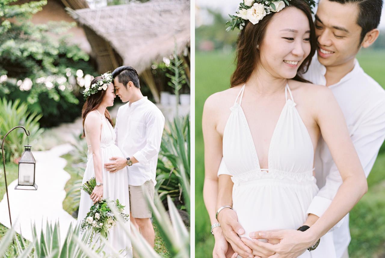 Tropical Ubud Babymoon Photography 9