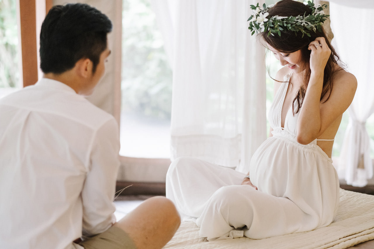 Sara & Lee: Tropical Ubud Babymoon Photography 13
