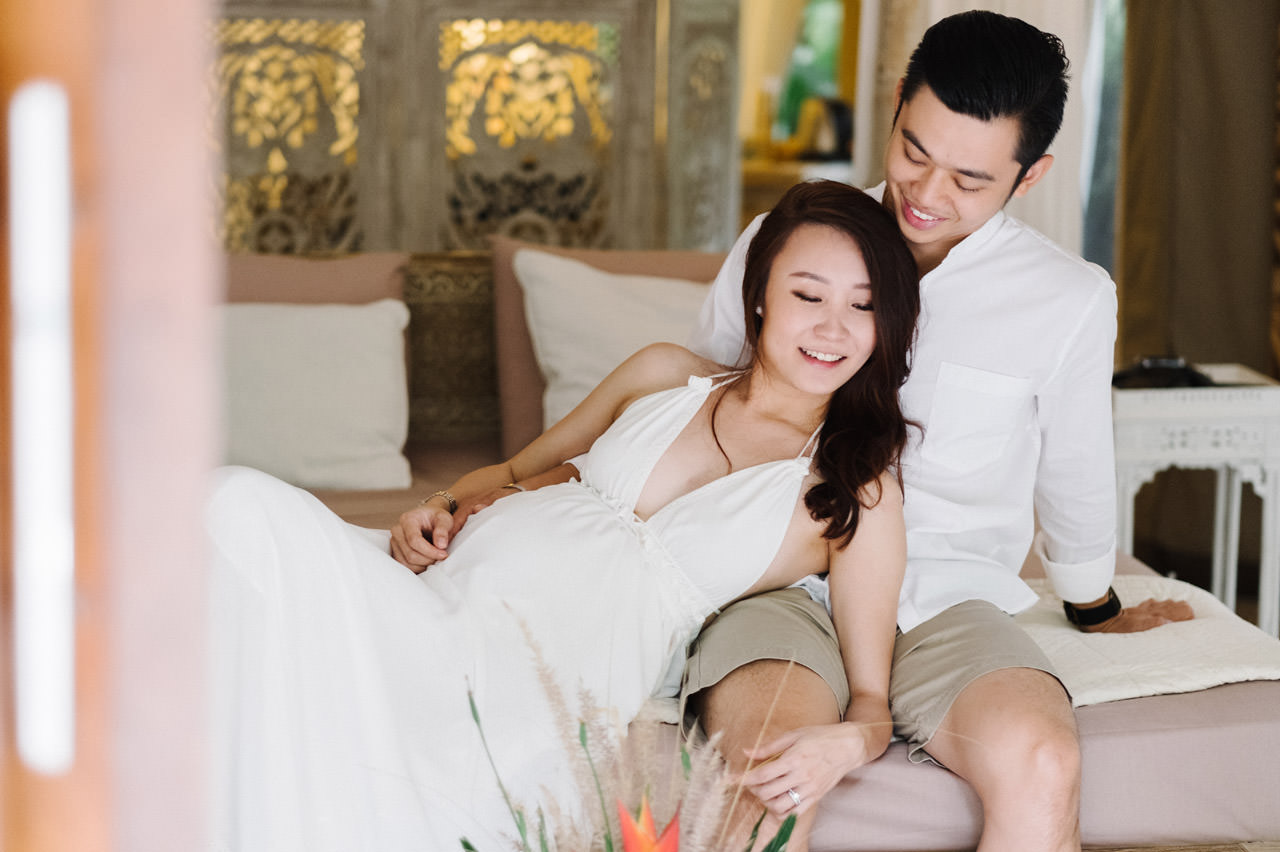 Sara & Lee: Tropical Ubud Babymoon Photography 14