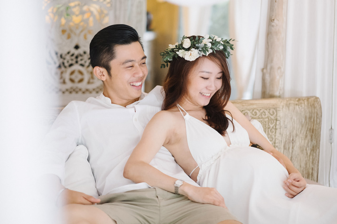 Sara & Lee: Tropical Ubud Babymoon Photography 19