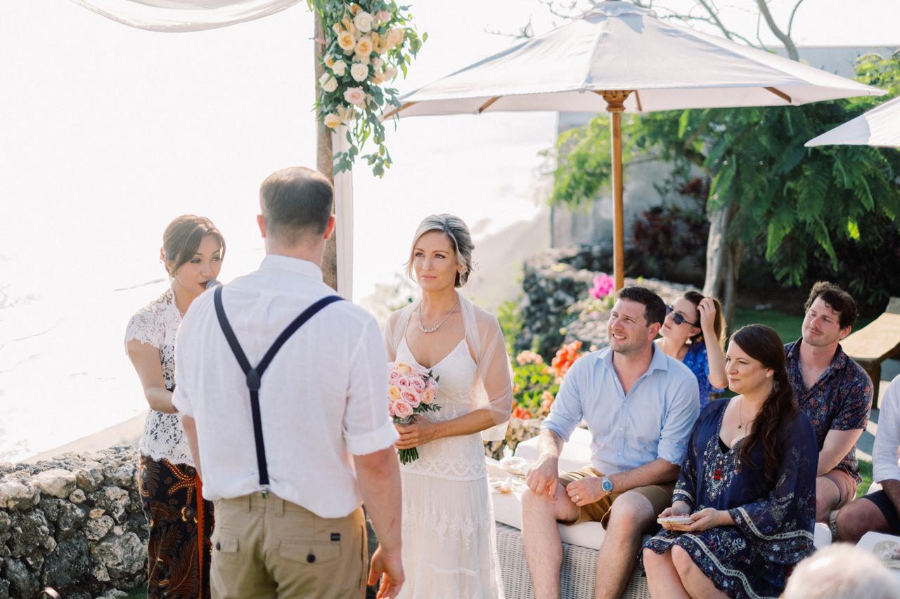 Sol y Mar - Bali Cliff-top Wedding 22