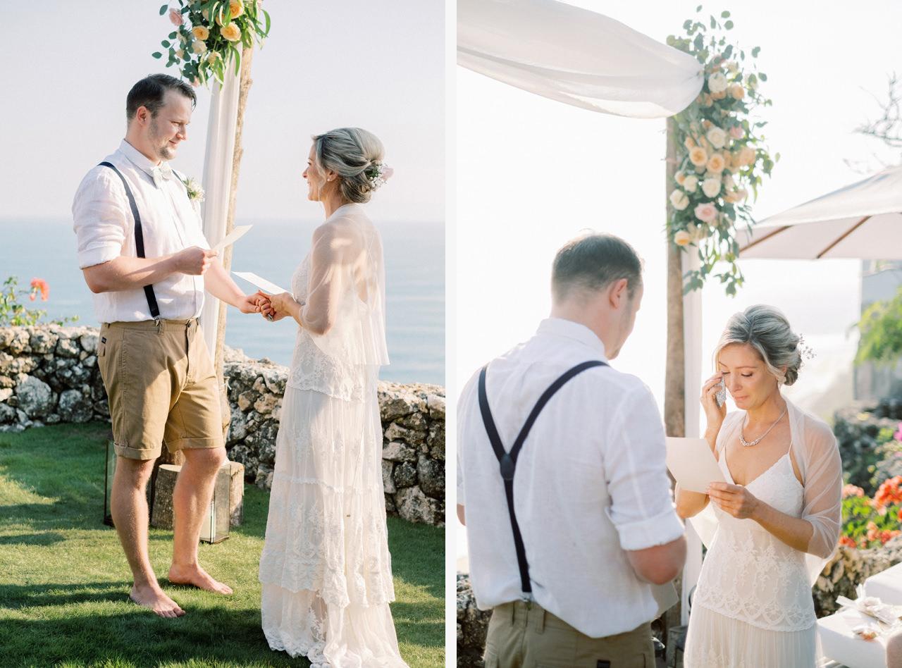 Sol y Mar - Bali Cliff-top Wedding 24