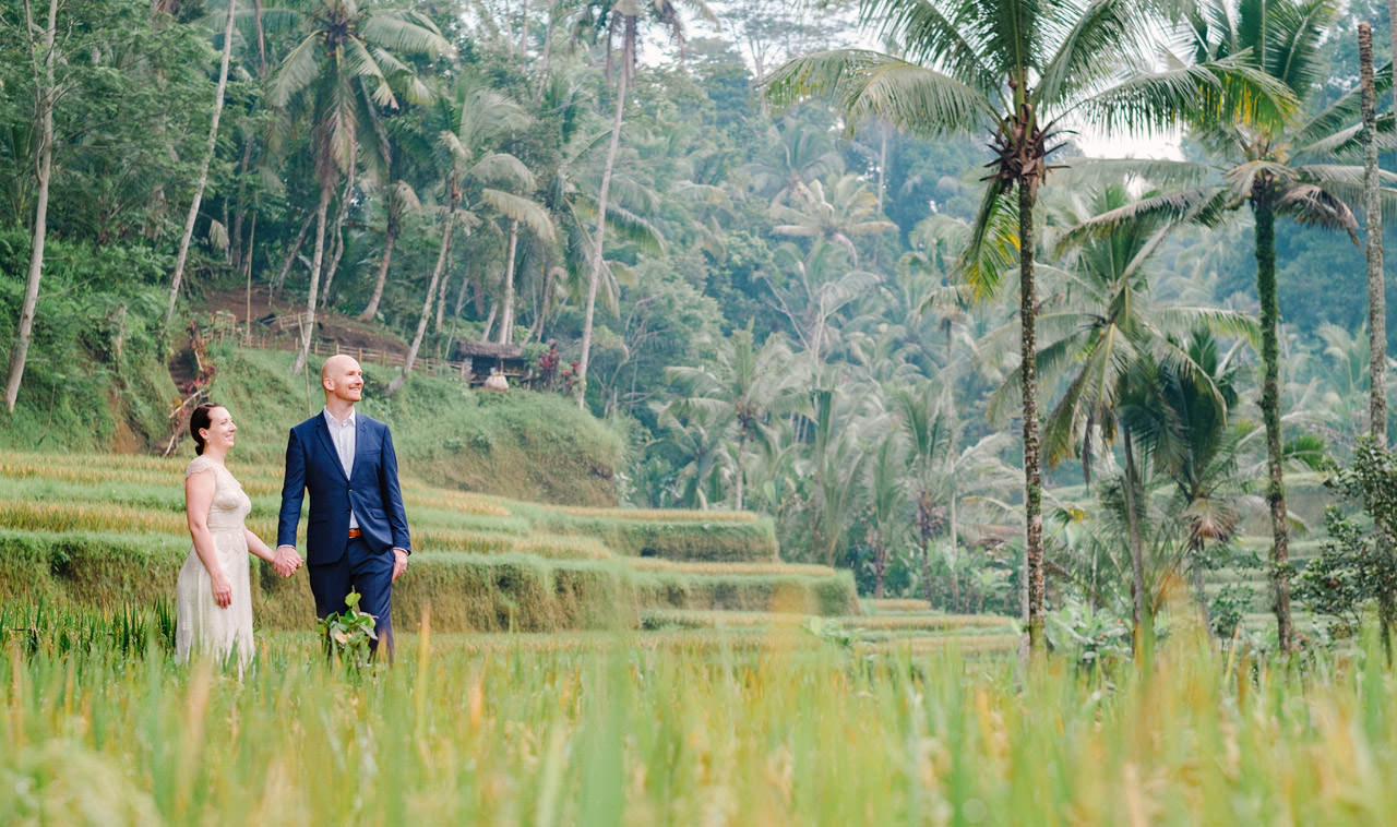 S&L: Romantic Honeymoon in Ubud Bali 10