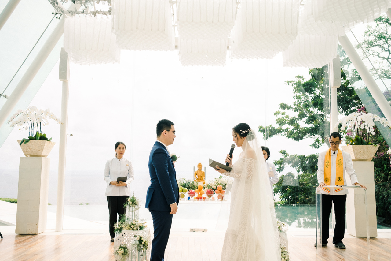 S&M: Buddhist Wedding Ceremony in Bali 20
