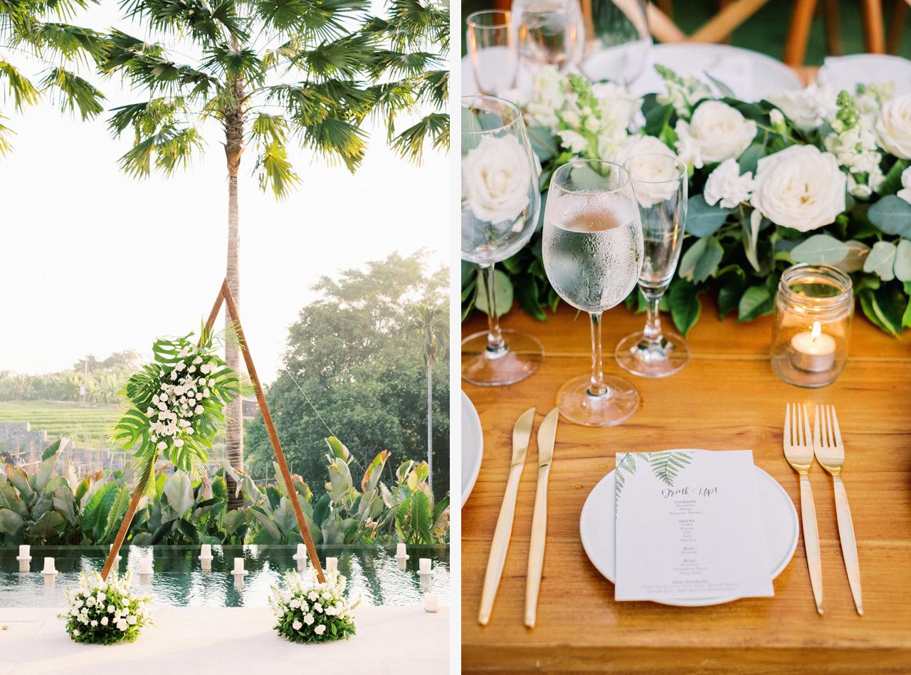 Bali Boho Wedding Decoration