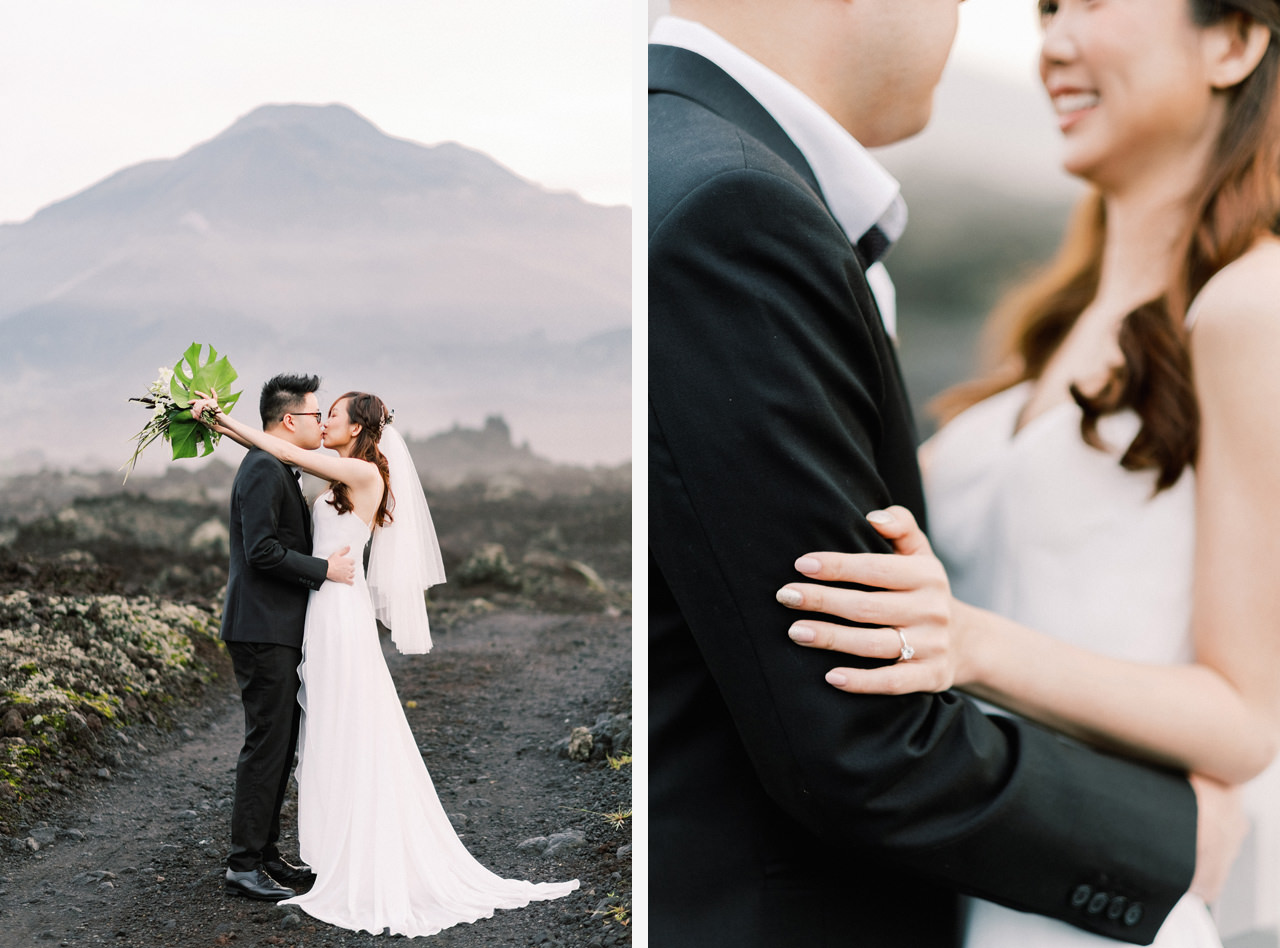 S&Y: Batur Volcano and Nungnung Waterfall Prewedding - Bali Prewedding Photographer 2