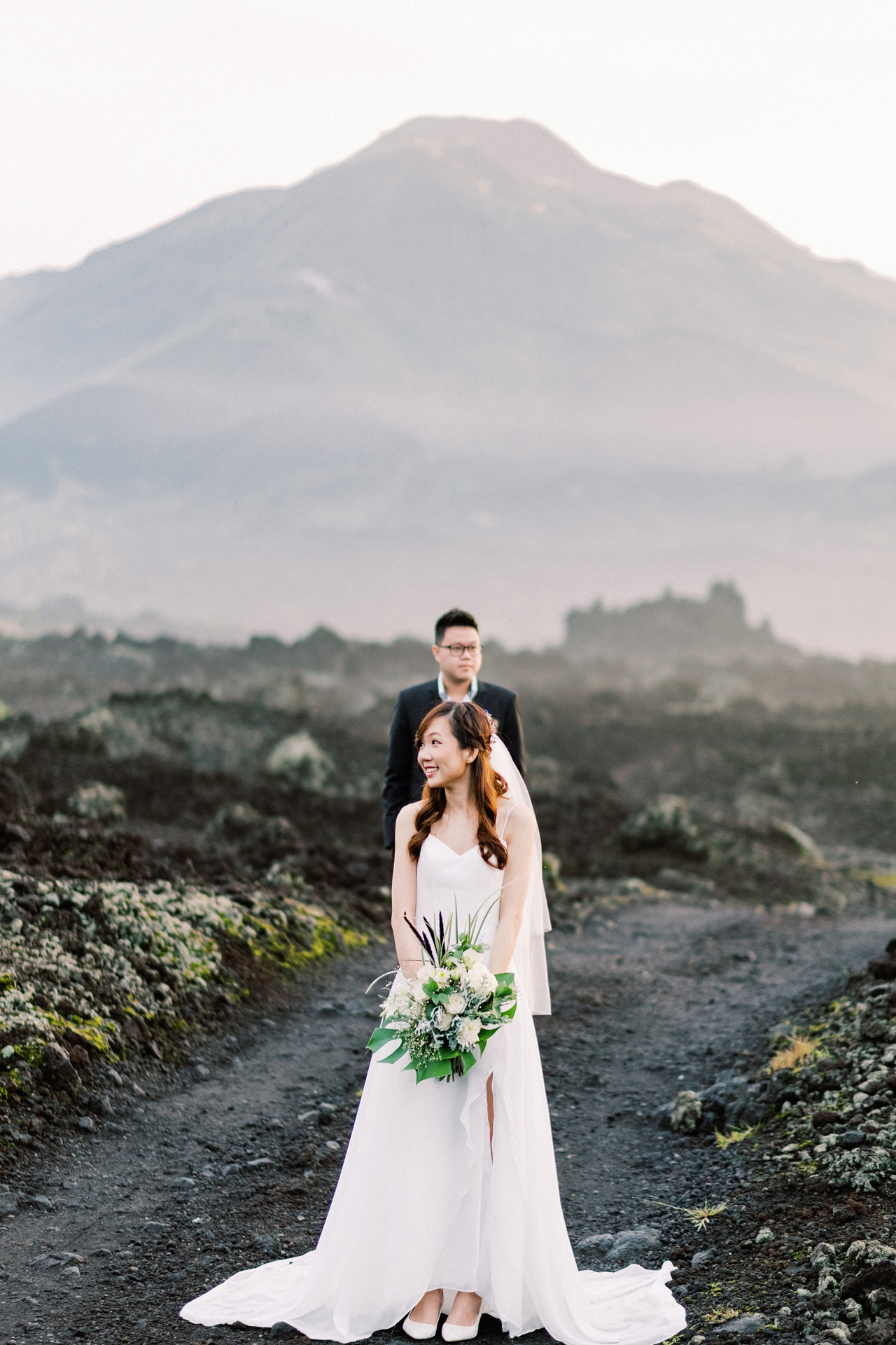 S&Y: Batur Volcano and Nungnung Waterfall Prewedding - Bali Prewedding Photographer 3
