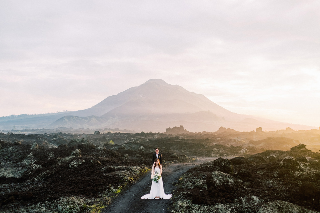S&Y: Batur Volcano and Nungnung Waterfall Prewedding - Bali Prewedding Photographer 4