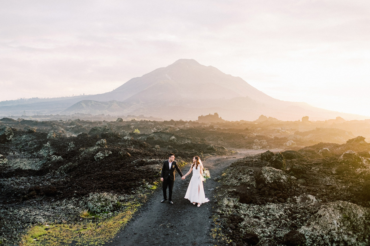 S&Y: Batur Volcano and Nungnung Waterfall Prewedding - Bali Prewedding Photographer 5