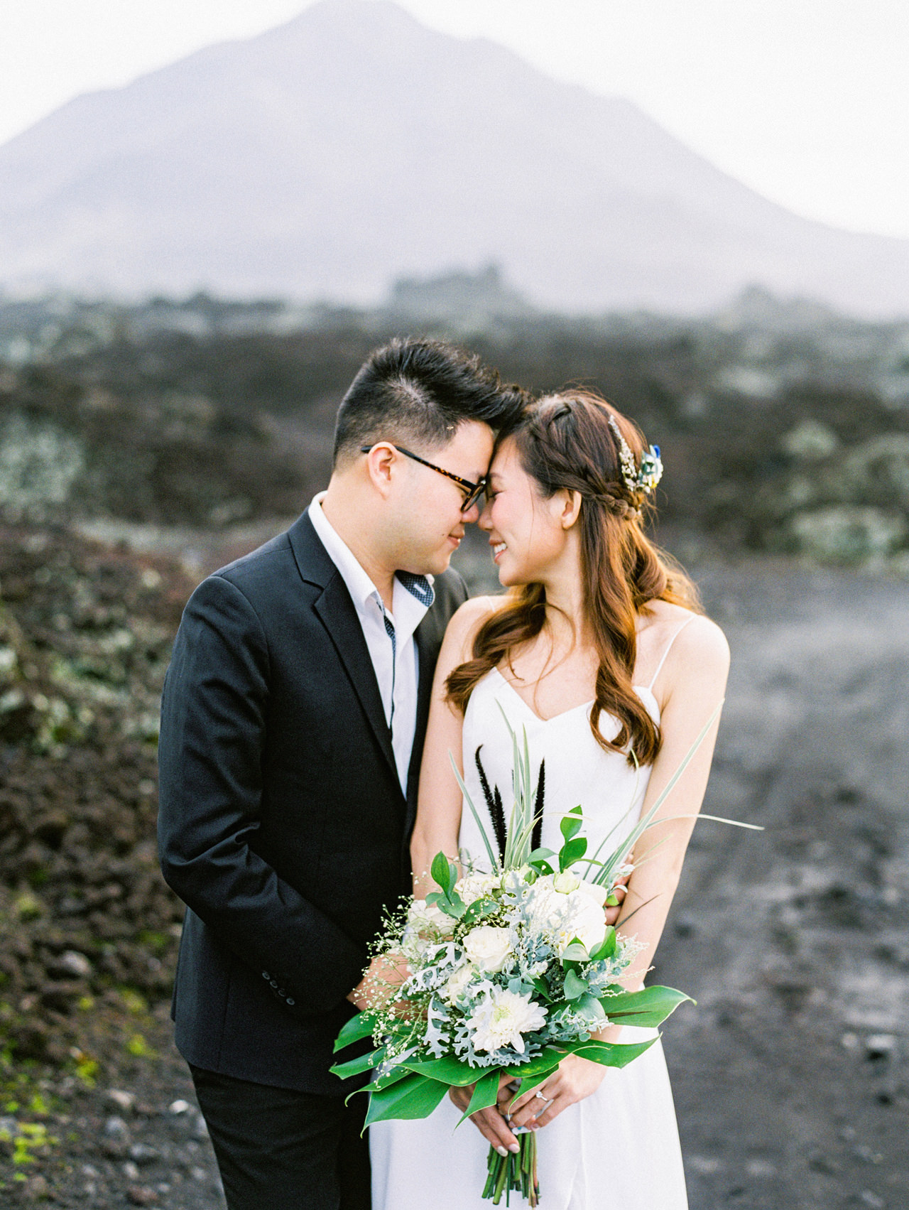 S&Y: Batur Volcano and Nungnung Waterfall Prewedding - Bali Prewedding Photographer 6