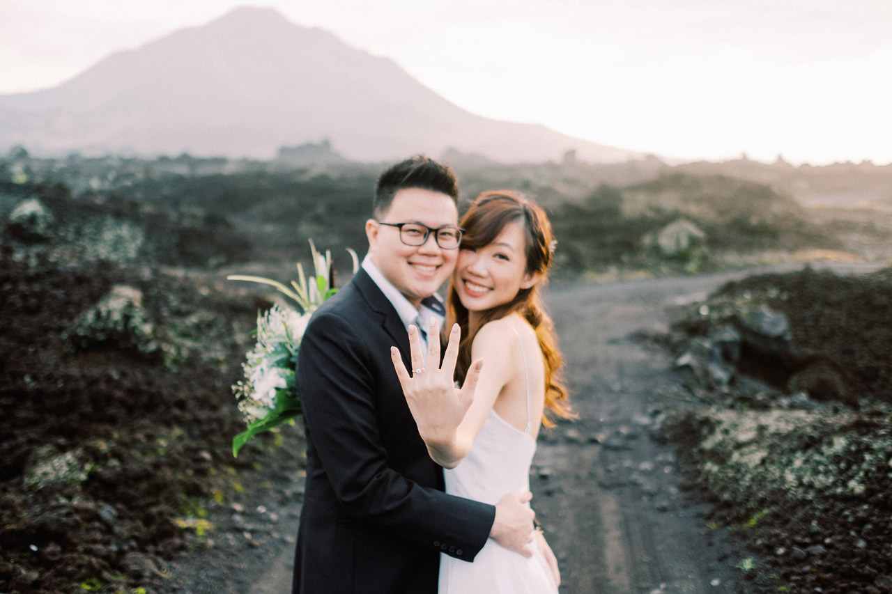 S&Y: Batur Volcano and Nungnung Waterfall Prewedding - Bali Prewedding Photographer 8