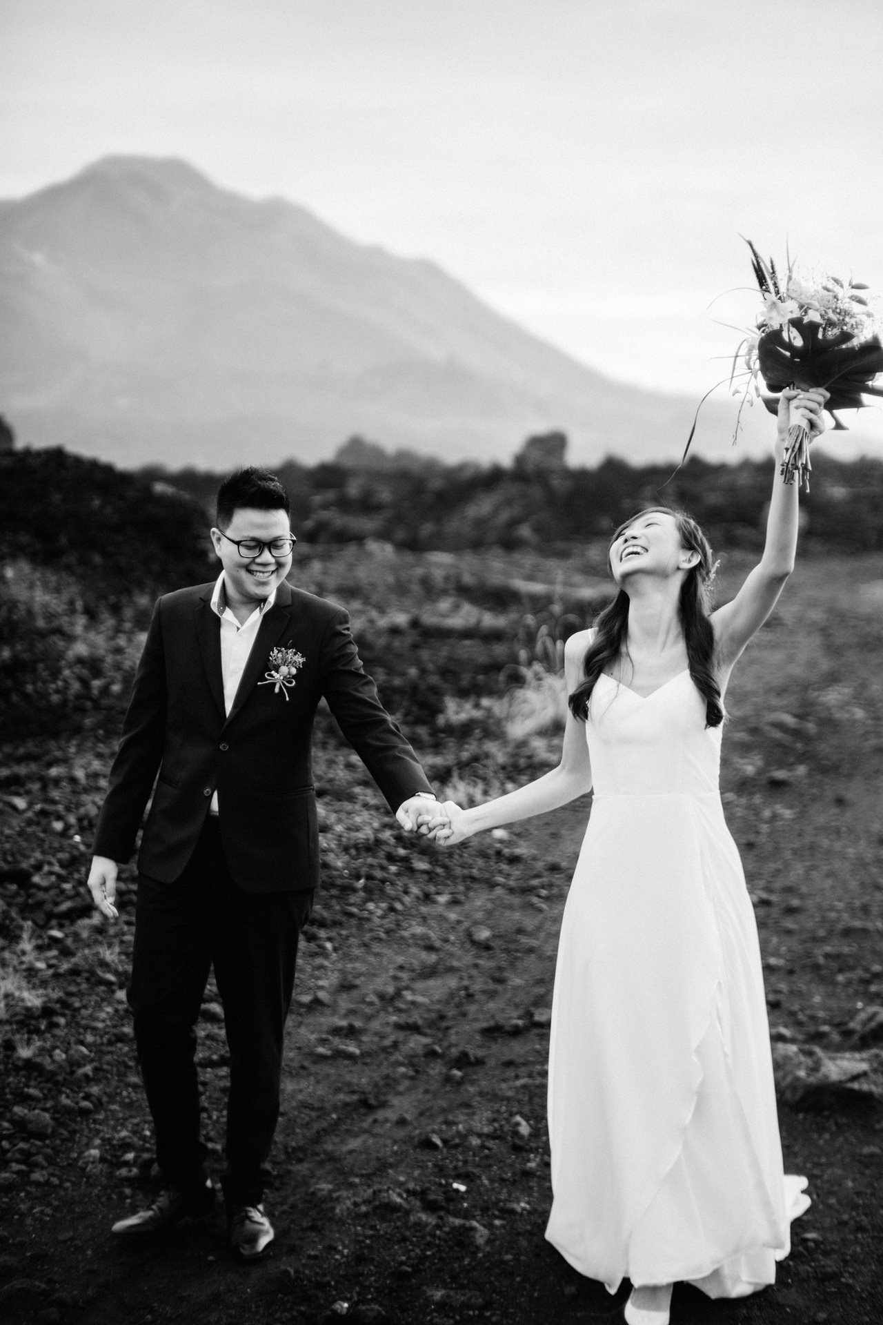 S&Y: Batur Volcano and Nungnung Waterfall Prewedding - Bali Prewedding Photographer 11
